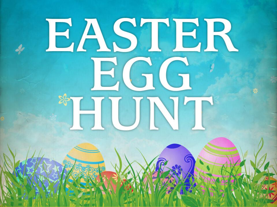 10 am Easter Egg Hunt