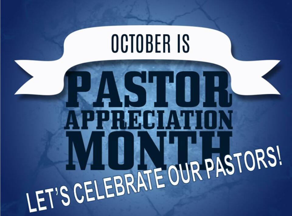 Pastor Appreciation Day!