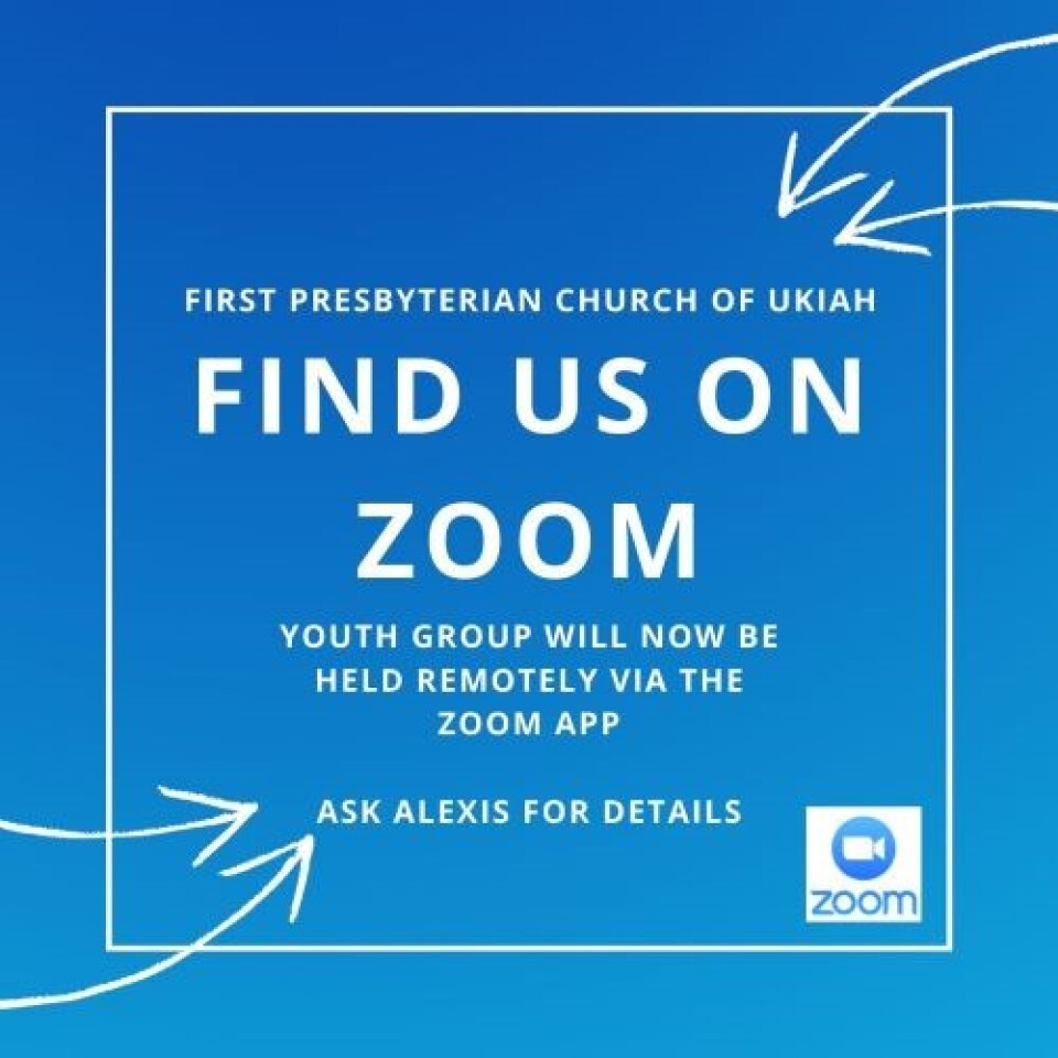 Youth Group - Online via Zoom